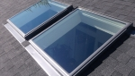 Velux deck mount skylights