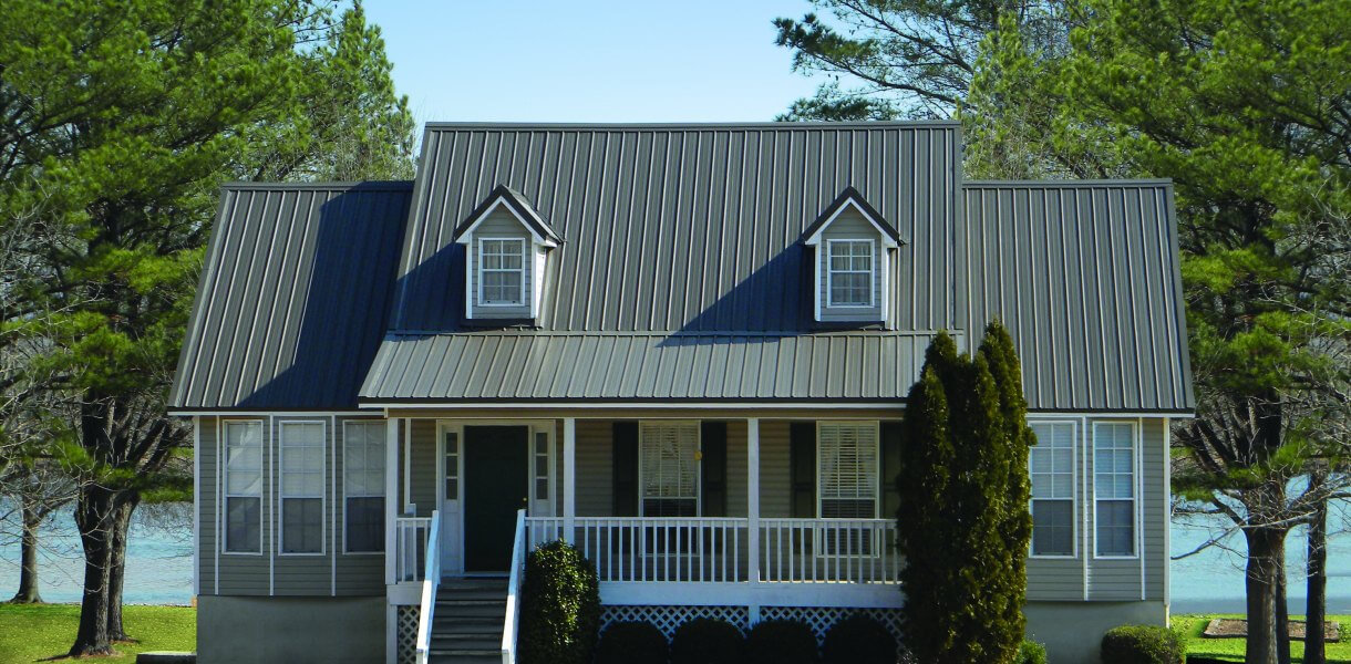 tuff-rib metal roof